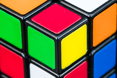 A Different Corner (londonlass16) Tags: 2365 day2 corner cube macro week1 macromonday block vibrant colourful ef100mmf28lmacroisusm squares rubikscube 365the2017edition 3652017 day2365 2jan17