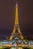 The only one (aurlien.leroch) Tags: france paris toureiffel eiffeltower night cityscape monument gold nikon
