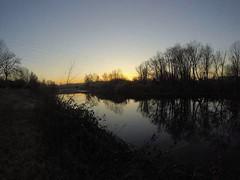 Sunset #gopro (_AlwaysSmile_) Tags: water gopro sunset beautiful me myself shot nature jenuary italia bologna sunrise trees explore flickr finest anawesomeshot treesubject flickrsbest light