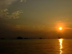 Sunrise in the beginning of year ... (yusuf ks) Tags: thousandislands pulauseribu kepulauanseribu pulauharapan hopeisland morninginanisland morninginhopeisland morninginpulauharapan pagiharidipulauharapan sunrise morning sea sky clouds landscape beach island laut langit awan pulau indonesia