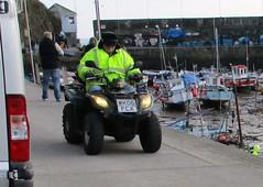 Kymco MXU 151 (occama) Tags: wk06fcx kymco mxu 151 quad bike 2006 cornwall uk mobility personal transport short distance