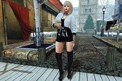 All I Need is Coffee and Mascara (kirstentacular) Tags: azuchi boots bueno catwa essenz groupgift maitreya meshbodyaddicts pinkfuel theseasonsstory truth