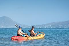 2017 Sony Open - Spieth and Smylie Go Kayaking (brerwolfe) Tags: angler angling canon canon1dxmkii fishing golf hawaii hawaiianislands honolulu island islandlife jordanspieth kayak ocean pgatour pacificocean paradise smyliekaufman sonyopen sonyopeninhawaii spieth waialae waialaecountryclub