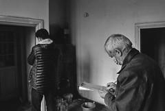 The surveyors (Firescu.C) Tags: nikkor28mmf2ai nikkor analog 35mmfilm 135 nikonfm agfa monochrome bw bucharest romania architecture decay