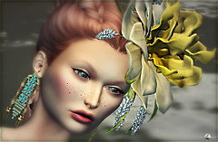 ╰☆╮Muskare portrait╰☆╮ (Miss Royalty♛FRANCE 2017) Tags: portrait pileup face female woman girl headpiece accessories earrings jewels jewellery jewelry pm lode lelutka deetalez bento rezology hairs hairstyle models topmodel slfashionblogger secondlife sl styling shopping style event events roxaanefyanucci lesclairsdelunedesecondlife lesclairsdelunederoxaane artistic photographer photo photography flickr firestorm mesh headmesh