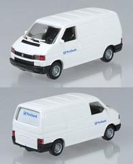 WIK-294-VWT4-Postbank (adrianz toyz) Tags: wiking plastic toy model 187 scale ho vw volskwagen t4 van postbank