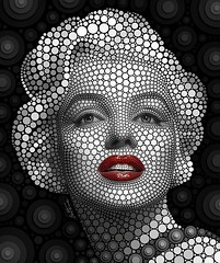 """KARE Design 3D reproductions of my Marilyn's circle portrait look fantastic!! Every art lover who bought it loved it, you should consider getting yours too: https://goo.gl/O9pBGV Les reproductions 3D de mon portrait de Marilyn en cercles par """"Kare Design"""" (Ben Heine) Tags: benheinephotography photography composition light smartphone nature landscape beauty beautiful photo photographie art ifttt instagram benheine horizon"""