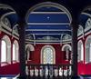 Read and Blue (Paco CT) Tags: zaragoza spain esp inside university architecture pacoct 2017 universidaddezaragoza paraninfo red blue