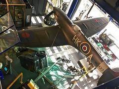 Wings on display (Kez West) Tags: birmingham midlands museum thinktank plane aviation wings wingwednesday hww display heritage history science spitfiregallery