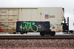 Matas (quiet-silence) Tags: graffiti graff freight fr8 train railroad railcar art armn reefer unionpacific natas armn110155