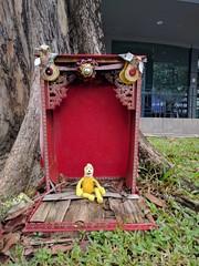 Swami - Singapore's Little India (ashabot) Tags: singapore asia wanderlust wanderiing traveler traveldiaries explore seetheworld seeasia streetscenes citystreets cities internationalcities swami red odd