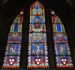 Malerfenster im Freiburger Münster um 1320/1330 (thomaslion1208) Tags: freiburgermünster münsterfreiburg münster kirche kerk church chiesa