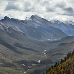 A Valley View with Rundle Peaks (Banff National Park) thumbnail