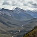 A Valley View with Rundle Peaks (Banff National Park)