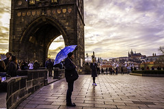 Praha tour (Syed Ali Warda) Tags: prague architecture artistic architectural amazing arts building buildings bridge canon7d cityscape clouds cityscapes culture dramatic dark darkclouds dusk art black white canon exposure excellent europe exciting flickr greatphotographers towerbridge landscape landscapes landmark monument outdoor observing outside picture photo syedaliwarda sky charlesbridge sunset