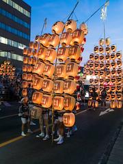 秋田竿燈まつり Akita Kanto Festival (かがみ~) Tags: japan panasonic 日本 akita 秋田 natsumatsuri 夏祭り kantou 竿燈 gx7 竿燈まつり 14140ii