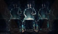 Nico (adrienne.beacco) Tags: lighting portrait musician music abstract composite studio concert guitar band portraiture singer drummer conceptual concertphotography guitarist strobist