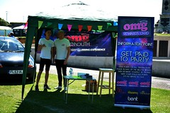 """OMG at Plymouth Pride 2015 • <a style=""""font-size:0.8em;"""" href=""""http://www.flickr.com/photos/66700933@N06/20600316806/"""" target=""""_blank"""">View on Flickr</a>"""