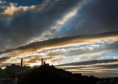 Carlton Hill (scrumsrus) Tags: city history sunrise scotland edinburg