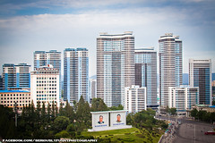 Pyongyang during the day (SeriouslyFunny Photography) Tags: travel camp building tourism republic apartment kim labor north kingdom korea il peoples communist communism prison un korean human rights housing dictator hermit democratic totalitarian jong koreans pyongyang dictatorship sung dprk totalitarianism mansudae