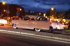 Cadillac 1955 (Drontfarmaren) Tags: show classic 1955 car vintage gallery sweden pics cruising cadillac event american week sverige coverage dalarna meet bilder sommar 2015 rättvik galleri drontfarmaren