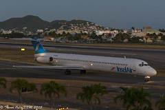 DSC_8569Pwm (T.O. Images) Tags: st airport princess air insel juliana douglas maarten sxm mcdonnell md80 pjmde