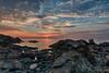Sunrise at East Point (NikonJim) Tags: water sunrise rocks d750 hdr nahant 7exp nikonjim
