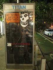 Crimson Ghost / The Misfits Mascot - Phone Booth Collage Art 1830 (Brechtbug) Tags: the crimson ghost misfits mascot phone booth collage over fashion ad poster art hey vampira i want be your danzig flood 1946 republic film serial directed by fred c brannon william witney horror punk band skull logo terror halloween fright creature shadow ghoul skulls skeleton skeletons shadows creepy theater theatre sideshow 2015 spooky figure