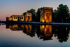 Templo de Debod, Madrid (Vik 2012) Tags: madrid espaa canon temple spain flickr templo templodedebod eos450d frameit infinitexposure