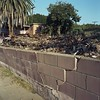 Bulging wall teardown (ADMurr) Tags: street 6x6 film wall rollei la kodak miracle debris mf mile 6th bulging teardown ektar