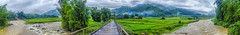 The bridge at Tú Lệ (Black Baron93) Tags: travel bridge panorama clouds canon river landscape stream paddy vietnam highland ricefield tamron northeast moutains paddyfield landscapephotography việtnam panoramicphoto northvietnam northeastvietnam invietnam terracedricefield travelinvietnam panoramascene