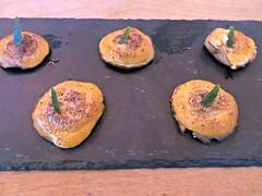 Shiitake Motoyaki (knightbefore_99) Tags: sea food art mushroom japan vancouver sushi asian japanese sauce salt cream commercialdrive eastvan shiitake kishimoto motoyaki