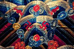 Chinese Budistic carpet (habaneros) Tags: carpet symbol swastika chinese budism