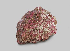 Corundum var. Ruby (Ron Wolf) Tags: nature norway crystal hexagonal mineral geology ruby earthscience corundum mineralogy austagder
