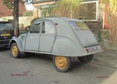 Citroën 2CV AZL (bcbvisser13) Tags: azl 2cv citroën 1957 ae6172 austerlitz provutrecht nederland eu personenauto bcbvisser13 klassieker classic auto voiture