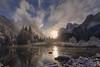 Yosemite Moonrise (rajaramki) Tags: moonrise yosemite yosemitenationalpark valleyview gatesofthevalley yosemitesnow winteryosemite
