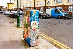 STREET ART AT 38 MARY'S LANE [DUBLIN CANVAS PAINT A BOX PROJECT BOX-TSB4M]-110167