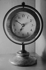 Broken clock (xeroxdocuprint) Tags: blackandwhite bw clock face analog circle hands time numbers round circular ticktock