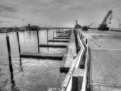 Fisherman's Wharf (mahler9) Tags: mahler9 jaym may 2014 provincetown capecod harbor newengland pier wharf fishermanswharf blackandwhite bnw