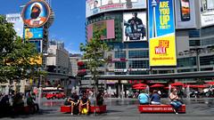 20120720 Downtown (zumakuma) Tags: street city summer people toronto canada square yongestreet dundas dundassquare dundasstreet blipfoto