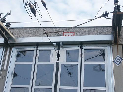 Складчасті швидкісні ворота SFT Efaflex, станція електротранспорту