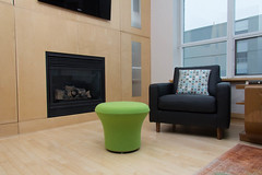 Interior Design  Alternate (michaelTO) Tags: home modern chair fireplace interiordesign pouf