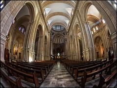 (2197) La Seu de Xtiva (Fisheye world) (QuimG) Tags: church architecture golden arquitectura interiors catedral olympus fisheye seu interiores valncia pasvalenci xtiva specialtouch quimg poblesdevalncia laseudextiva quimgranell joaquimgranell afcastell obresdart