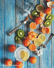 "Когда вокруг все немного серое и немного мокрое так не хватает ярких красок. А кто нам их мешает добавить самим? Никто, кроме нас :-) Всем бодрого начала недели! Кушайте витамины и чаще улыбайтесь! ""Якщо все сіре і кольору бракує,  Тоді біда... хіба що на (CreativePhotoTeam.com) Tags: food orange white cold green ice nature water glass yellow fruit square table dessert wooden juicy lemon healthy mixed colorful raw view natural drink sweet juice background beverage mint fresh lemonade sugar cocktail squareformat vegetarian tropical grapefruit mandarin citrus organic lime diet clementine kiwi refreshing liquid assorted freshness ripe refreshment ingredient vitamin iphoneography instagramapp uploaded:by=instagram"