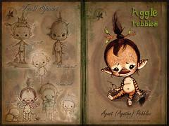 Ågnot Pebbles - Mineral troll (chartar_69) Tags: aggie encyclopedia charlesstephan woodlingfaeries charlescreaturecabinet ågnotpebbles mineraltroll