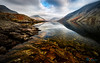 Wast Water Red Rocks (Dave Massey Photography) Tags: wastwater lakedistrict cumbria rocks screes yewbarrow reflection calm winter earth stone