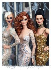 Happy Holiday Angels (kingdomdoll) Tags: trinovantes kingdomdoll kingdom resinfashiondoll resin beauty bjd glamour fashion doll fashiondoll