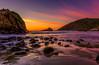 Wildest Sky (Simon Huynh) Tags: pfeifferbeach sunset rock guidinglight california coastline