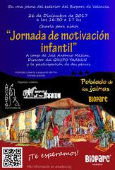 """Cartel de la charla de Motivación infantil en las jaimas del Bioparc • <a style=""""font-size:0.8em;"""" href=""""http://www.flickr.com/photos/145784091@N07/31124918773/"""" target=""""_blank"""">View on Flickr</a>"""