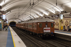 2016-12-10 Sydney Trains F1 C3426 Museum 591P St James 90th Shuttles (deanoj305) Tags: transportheritagensw sydney trains vintage heritage train red rattler stjames90 st james 90th anniversary f1 c3426 city circle nsw new south wales australia